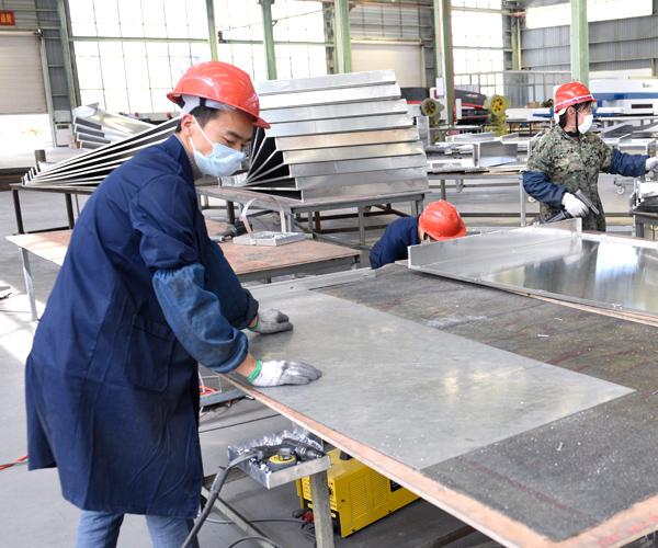 国昆铝单板厂家-施工安装