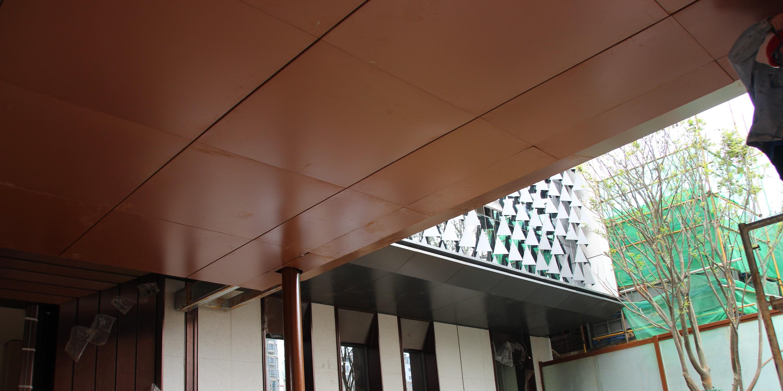 国昆铝单板丨昆明大明苑校区装饰工程
