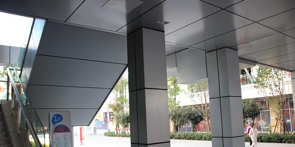 国昆铝单板丨昆明南悦城商场铝单板室内外装饰项目