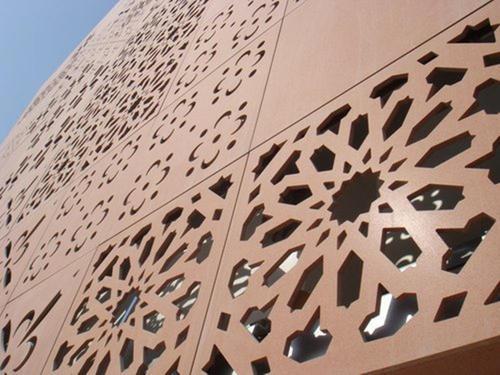 云南雕花铝单板幕墙