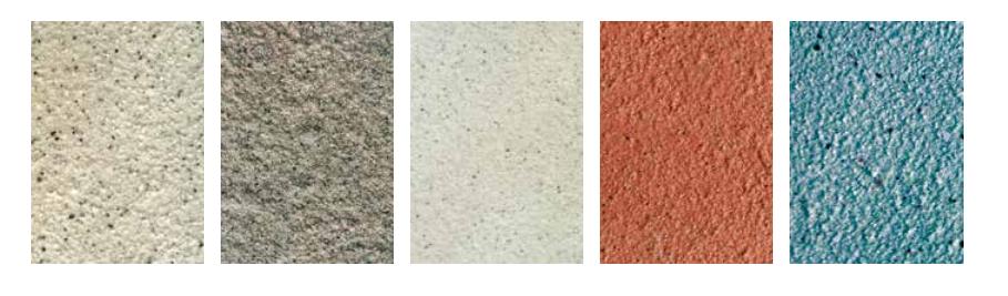 天然碎石漆喷涂防石纹铝单板样式