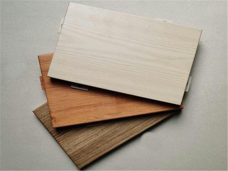 云南仿木纹铝单板