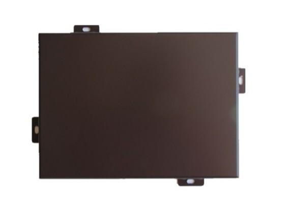氟碳铝单板(深咖啡色)