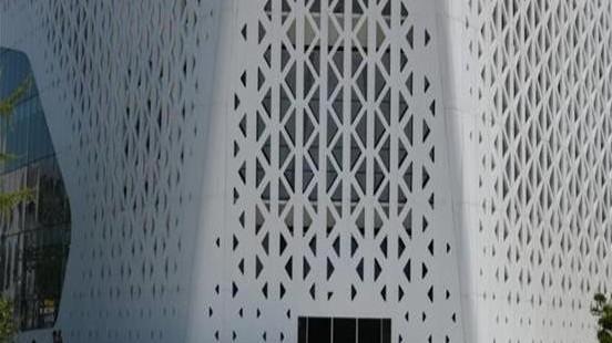 国昆铝单板厂家冲孔铝单板具有哪些优势