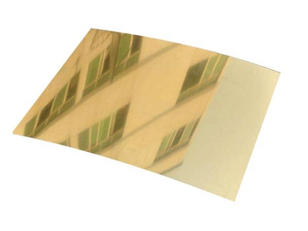 金色镜面铝板