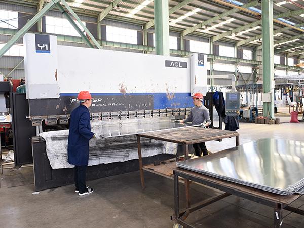 国昆铝单板厂家|数控开槽