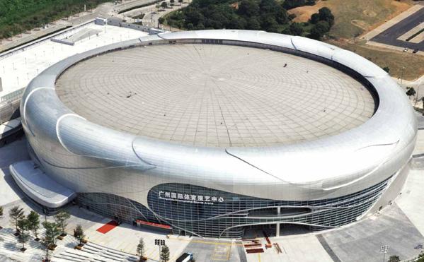 国昆铝单板厂家案例|广州国际体育演艺中心