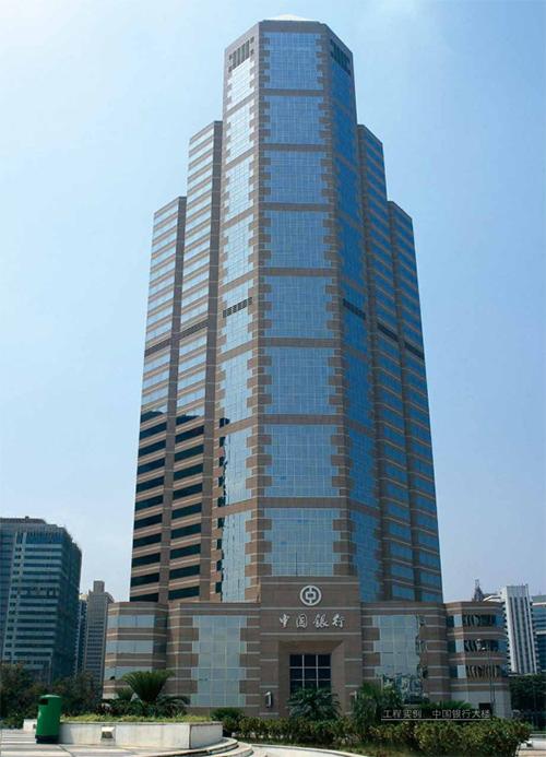 国昆铝单板厂家施工案例|中国银行大楼